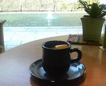コーヒーにマシュマロ