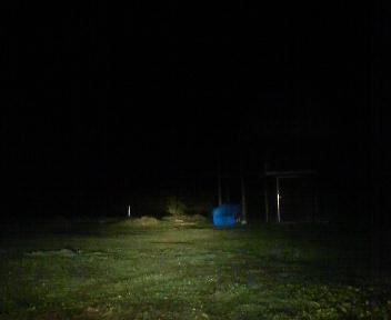 闇夜の里山