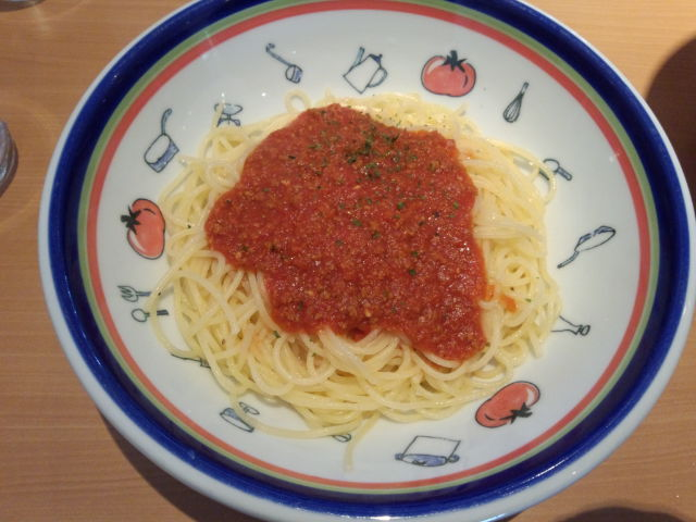 イタリアンな昼食