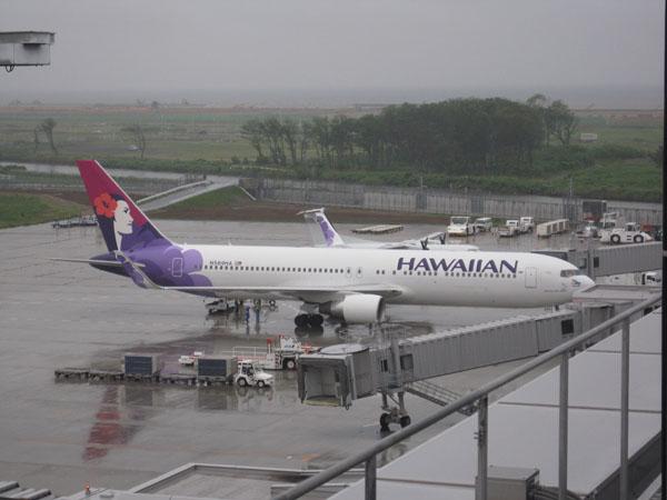 ハワイアン航空就航 RJSS